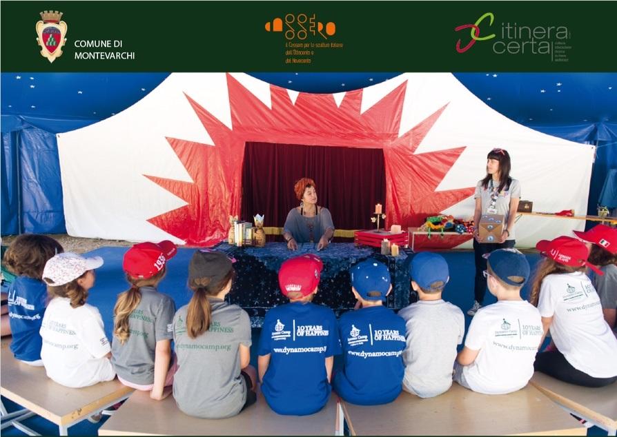 Arte regale al Cassero: un laboratorio per bambini e famiglie con la Dynamo Camp