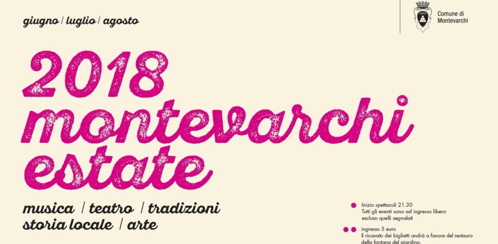Montevarchi Estate 2018: ecco il programma degli eventi