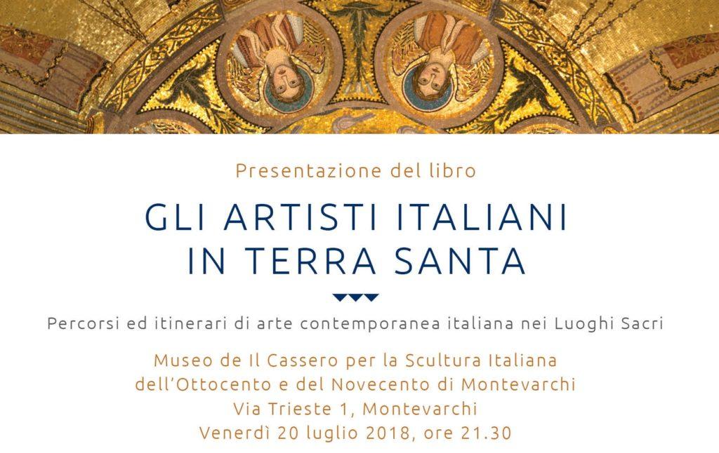 """Presentazione del libro """"Gli artisti italiani in Terra Santa"""""""
