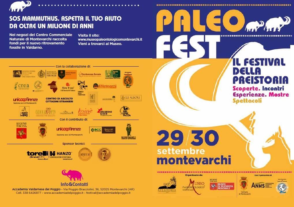 Paleofestival: una due giorni dedicata alla preistoria a Montevarchi
