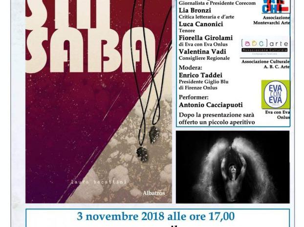 """""""Sin Siba"""" il libro di Laura Becattini sarà presentato al centro La Bartolea sabato 3 novembre"""