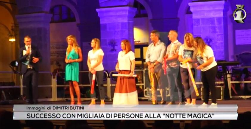 Successo per la Notte Bianca 2019 di Montevarchi