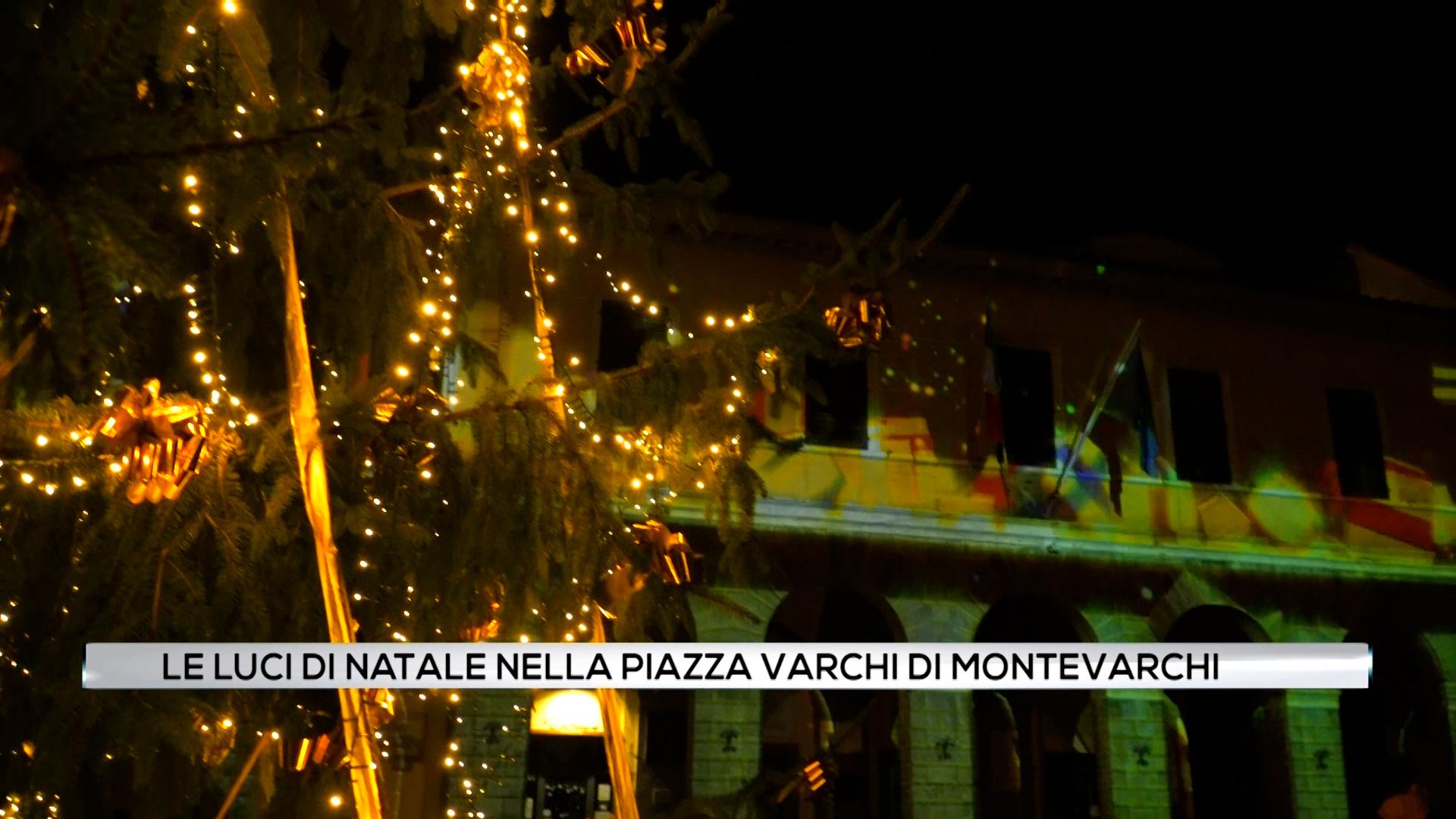 Le luci di Natale a Montevarchi 2020