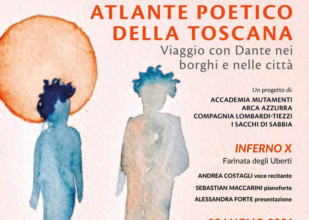 Montevarchi Estate 2021, Spettacolo teatrale all'Anfiteatro della Ginestra